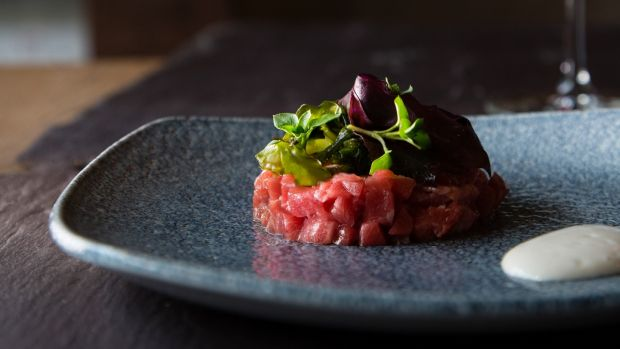 A small plate served at Tartare in Galway. Photograph: Anita Murphy