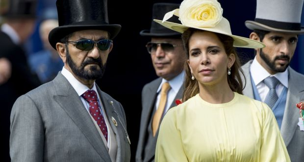 Dubai ruler and his wife begin legal battle in London