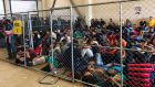 A handout photo made available by the US  Office of the Inspector General  shows overcrowded conditions at the US Border Patrol's McAllen holding station in McAllen, Texas on June 10th, 2019.