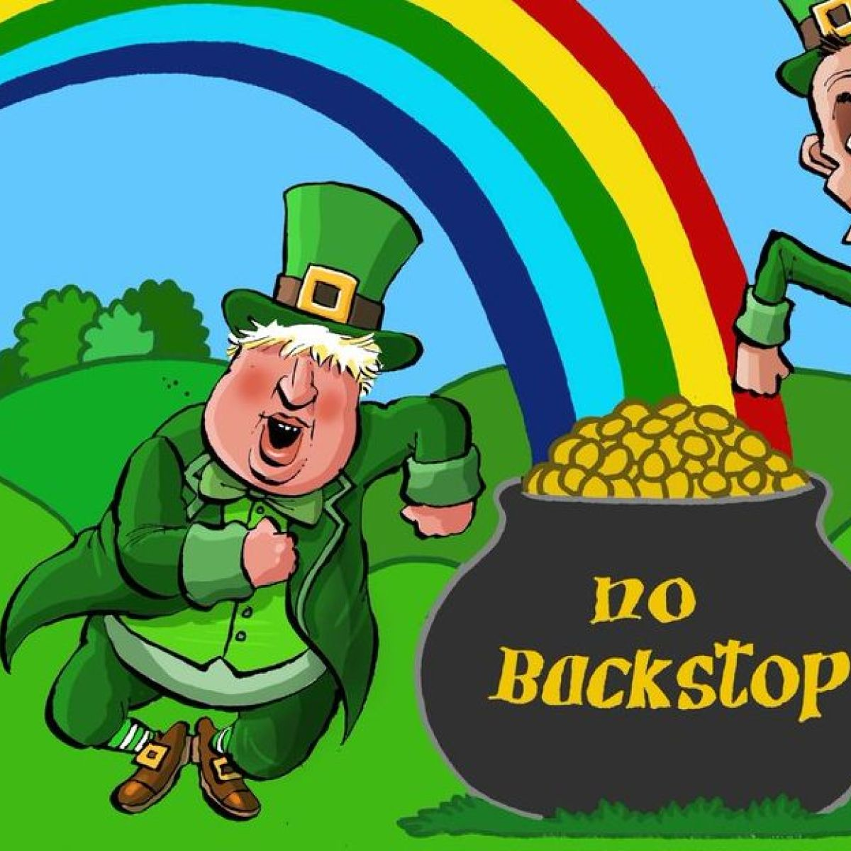 Why the Boris Johnson, Jeremy Hunt leprechaun cartoon is no ...