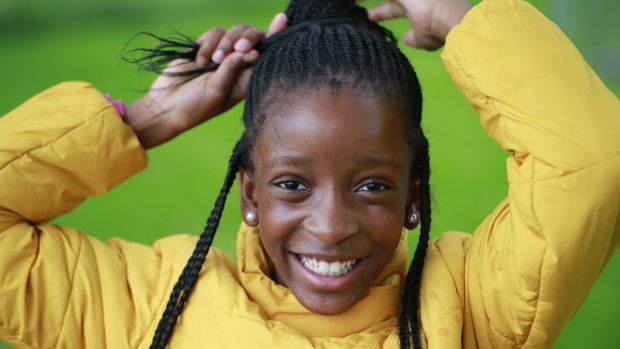 Rhianna spent her first few months in Ireland living in the Balseskin direct provision centre in Finglas, a stop-off point for nearly every person who arrives in Ireland seeking asylum. Photograph: Nick Bradshaw: The Irish Times