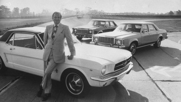 Lee Iacocca,and the Ford Mustang.
