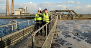 Irish Water is carrying out essential cleaning works at the Ringsend Wastewater Treatment Plant in Dublin over the coming days 'to deal with current odour issues' and to reduce risk of odours arising over the summer months. File photograph: Cyril Byrne/The Irish Times.
