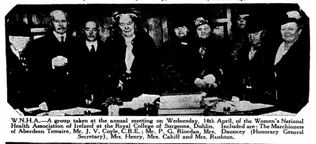 From The Weekly Irish Times – Saturday, April 24th, 1937.