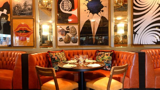 The Ivy restaurant, Dawson Street, Dublin. Photograph: Dara Mac Dónaill/The Irish Times