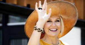 Dutch centre-left parties have said  Queen Maxima  in was placed in 'an impossible position' by allowing the meeting with the crown prince to go ahead. Photograph: Patrick Van Katwijk/EPA
