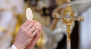 'Take, bless, break, share . . . Jesus took the bread, just as he took the loaves and the fishes that were brought to him when he fed the 5,000 on the hillside.' Photograph: Getty Images