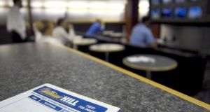 William Hill move will lead to about 4,500 job losses. Photograph: Adrian Brown/Bloomberg news.