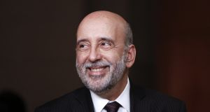 Gabriel Makhlouf, the incoming Governor of the Central Bank of Ireland. Photograph: Vivek Prakash/Bloomberg