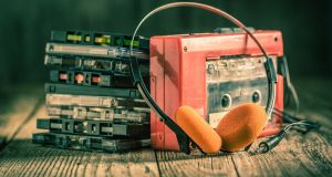 The Walkman: when people first consumed entertainment in their own cocooned space. Photograph: iStock
