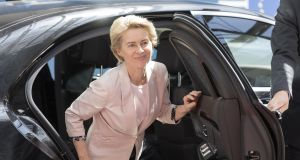 Nominee president of the European Commission Ursula von der Leyen: on Tuesday afternoon she was a political unknown outside of Germany but, by Wednesday morning, she was at the centre of a paparazzi scrum. Photograph: Thierry Monasse