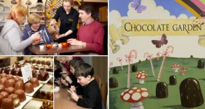 Win a family golden ticket for a chocolate workshop at The Chocolate Garden of Ireland