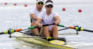 Ireland's Shane O'Driscoll and Mark O'Donovan: they  will race in the Silver Goblets. Photograph: Craig Watson/Inpho