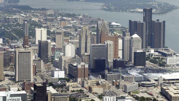Detroit: is attempting to bounce back. Photograph: Paul Sancya/AP