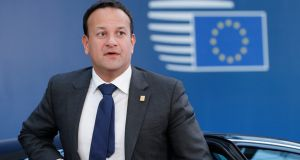 "Taoiseach  Leo Varadkar: over the years in the EU, we have generally been content to excel at the great Irish sport of ""punching above our weight"". But we could have set the bar higher. Photograph: Geoffroy van der Hasselt"