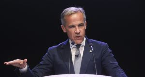 Mark Carney: he has run the Bank of England since 2013, and is scheduled to leave at the end of January.  Photograph: Simon Dawson/Bloomberg