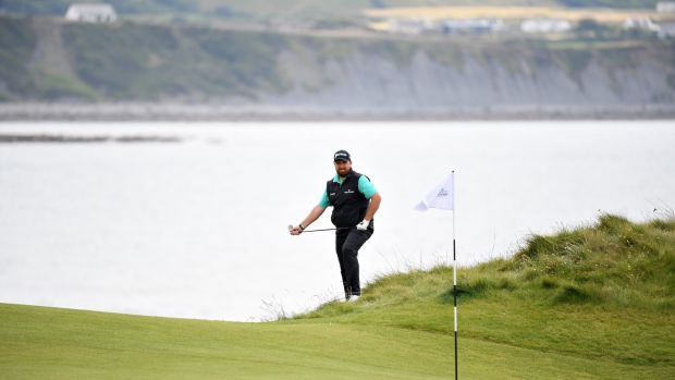 Shane Lowry battled back to card a 72 on Friday. Photograph:Jan Kruger/Getty