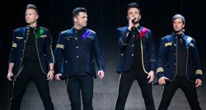Nicky Byrne, Markus Feehily, Shane Filan and Kian Egan. Photograph: Mike Lewis Photography/Redferns