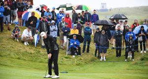 Robin Dawson made a fine 64 at Lahinch on Saturday. Photograph: Jan Kruger/Getty