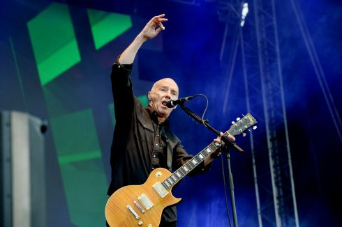 Midge Ure  performing at  the three day Forever Young 80s Music festival, at Palmerstown House Estate, near Naas. Photograph: Alan Betson / The Irish Times