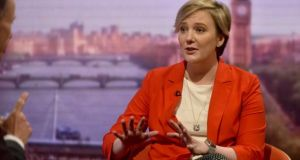 Labour MP Stella Creasy is to table an amendment to the NI (Executive Formation) Bill seeking to extend access to abortion to Northern Ireland. File photograph: Jeff Overs/BBC/PA Wire