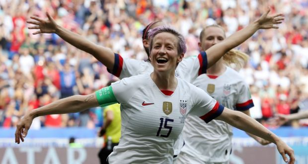 Megan Rapinoe embodies USA's winning mentality