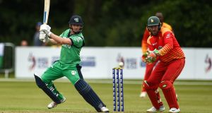 William Porterfield will captain Ireland as they face England at Lord's later in July. Photograph: Oliver McVeigh/Sportsfile
