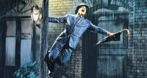 Gene Kelly in Singin' in the Rain (1952), which he also co-directed and choreographed
