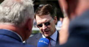 Aidan O'Brien has four runners in the July Cup at Newmarket. Photograph: Laszlo Geczo/Inpho