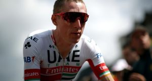 Dan Martin moved up 54 positions and is now 38th. Photograph: Getty Images