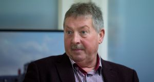 DUP MP Sammy Wilson has criticised a warning to unionists over a Border poll. Photograph: Liam McBurney/The Irish Times