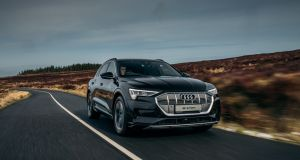 Overall, the Audi e-Tron crossover delivers proper premium flair in a family-sized car, but at a hefty price