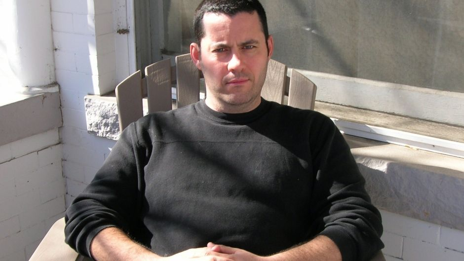 """Adrian McKinty: """"The good news was that I was going back to being a writer and we had $10,000. The bad news was that I'd hooked into some major league craziness.  It's like that Al Pacino film – I thought I was out and these guys got me to do one last job."""""""