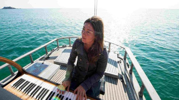 Marieke Huysmans travels the world's oceans, giving free concerts from her boat. Catch her Pianocean at the Galway arts festival