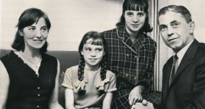 Thomas Niedermayer with his wife, Ingeborg Tranowski, and their two daughters. He was kidnapped in 1973 and his body was discovered  five years later