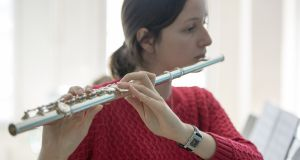 You can strut while playing the flute, something much harder to do with bagpipes or accordions. Photograph: iStock