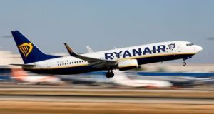 Ryanair closed down over 5 per cent lower in Dublin