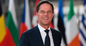 Dutch prime minister Mark Rutte: His Liberals have the support of centre-right allies, the Christian Democrats, and three right-wing parties, Geert Wilders' Freedom Party, the Forum for Democracy and the Calvinist party, SGP. Photograph: Bertrand Guay