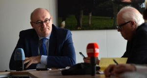 Besides agriculture, Phil Hogan has been an influential figure within the commission in articulating Ireland's case on Brexit. Photograph: Ray Ryan