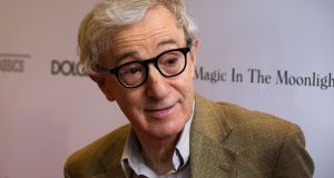Director Woody Allen: No matter what happens in my life, I focus on my work. Photograph: Lucas Jackson/Reuters