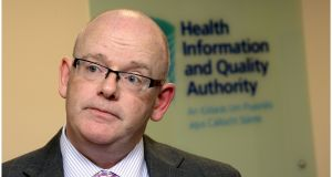 Phelim Quinn, chief executive of the Health Information and Quality Authority. Photograph: Brenda Fitzsimons