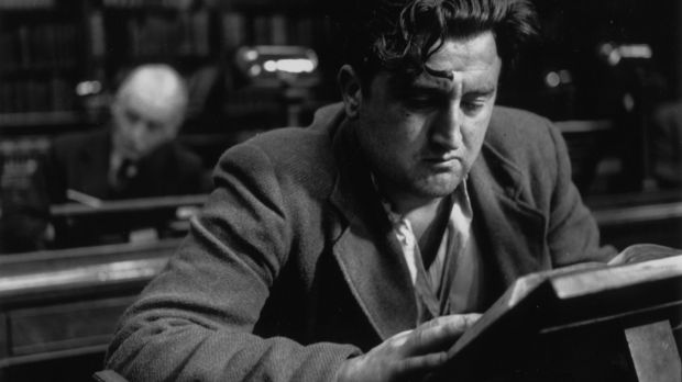 Brendan Behan in August 1952. Photograph: Daniel Farson/Picture Post/Getty Images