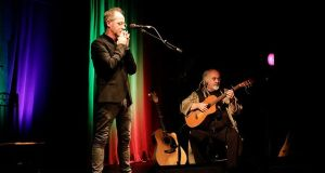 Iarla Ó Lionáird and Steve Cooney play St Nicholas' Church, Galway, on July 17th.
