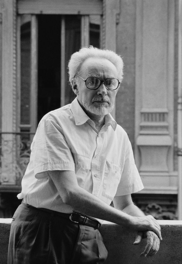Primo Levi pictured in Rome in January 1986. Photograph: Getty Images