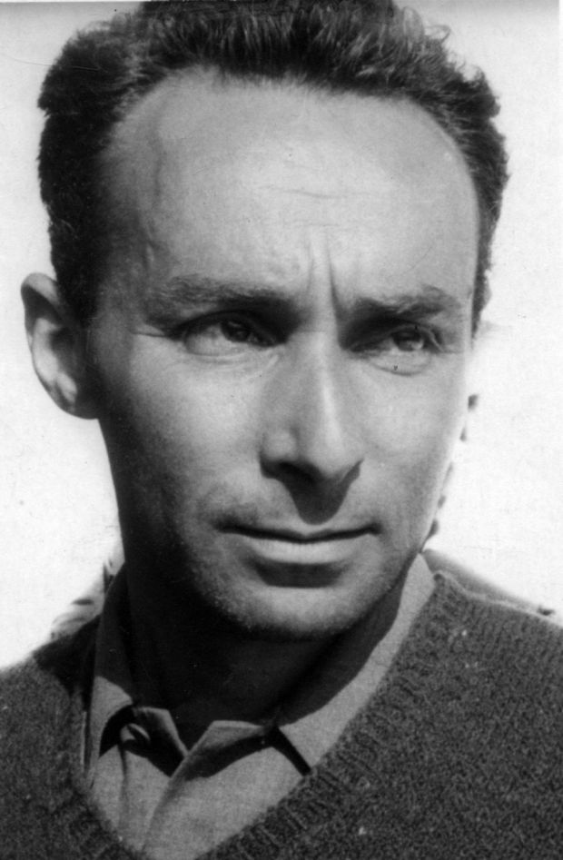 Primo Levi, Italian writer, partisan and chemist (Photo by Mondadori Portfolio via Getty Images)