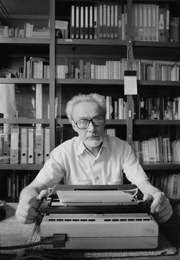 Primo Levi in Rome, 1986. Photograph: Getty Images