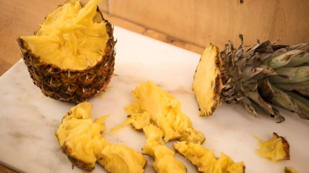 With anything other than a snack pineapple, it has to be the knife. Photograph: Linda Nylind/The Guardian