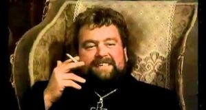 Terrifying: Brendan Grace as Fr Fintan Stack in 1990s TV comedy series Fr Ted.