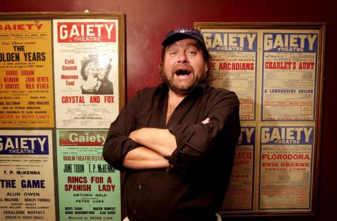 Brendan Grace at the Gaiety Theatre, Dublin, in 2001. Photograph: Dara Mac Dónaill/The Irish Times