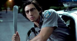 Head shot: Adam Driver in The Dead Don't Die